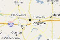 Longview, Texas where I live currently as a newly wed!!! Love ya hun!!