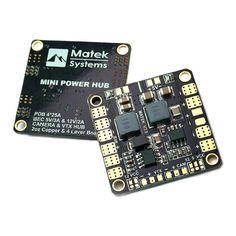 Matek Mini POWER HUB w/ BEC 5V & 12V