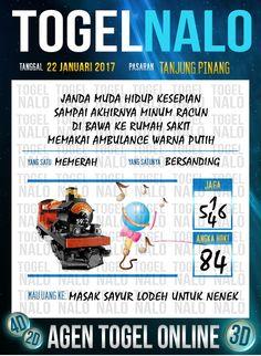 Acak Jitu 4D Togel Wap Online Live Draw 4D TogelNalo Tanjung Pinang 22 Januari 2017