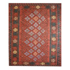 Luxurious Tribal Afghani Kilim Is Idol Rug For Room Interior This Include Quality Hand