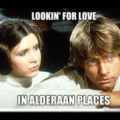 star wars meme   Tumblr Looking for love in all the wrong places!