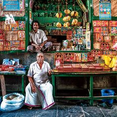 """The idli welcomes me into the day like a slightly flattened moon that has landed on my plate."" Street vendors of Kanchipuram - Ganesh,Kali, Meldi Mata.Get your dharma here."