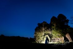 Browsholme Hall Wedding, making the most of the fading light. Lancashire wedding photography by www.pixiesinthecellar.co.uk