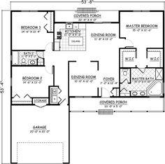 Main Floor Plan: 64-121