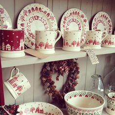 Emma Bridgewater Christmas pottery
