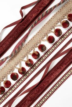 Wine-inspired trim by Kravet to inspire looks incorporating PANTONE Color of the Year 2015 Marsala