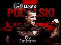 Lukas Podolski Arsenal 2012-2013 HD Best Wallpapers