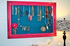 Skinny Meg: {super sized} Jewelry Organizer