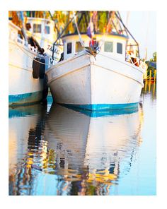 Art, Photography, Nautical, Water, Reflection, Savannah, Georgia, Boat, Colorful Art, Wall Art, Cottage Home Decor