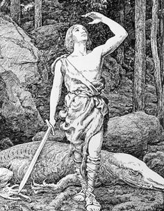 Sigfried from the Nibelungs poem...