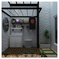 Cool 30 Charming Small Laundry Room Design Ideas For You. Outdoor Laundry Rooms, Tiny Laundry Rooms, Laundry Room Bathroom, Laundry Room Storage, Small Laundry Area, Bathroom Small, Laundry Room Design, Home Room Design, House Design