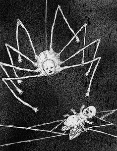 death skulls art Black and White creepy horror dark skull dead darkness Macabre macabre art dark art creepy art horror art Spider Drawing, Spider Art, Arte Horror, Horror Art, Scary Drawings, Dark Paintings, Creepy Horror, Macabre Art, Creepy Art
