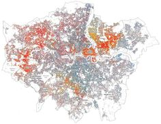 12 data maps that sum up London