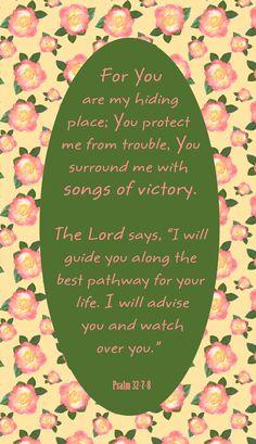 Psalm 32:7-8