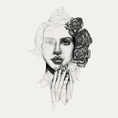Illustrations Collection Three by Nadine LeDuc, via Behance