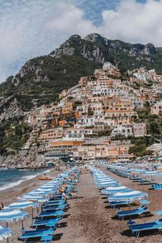 Ultimate 4 Day Positano Italy Travel Itinerary What to See & Where to Eat: Spaggia Grande. Positano was at the top of my bucket list for years, and it did not disappoint! Here is my Positano Italy Travel Itinerary for the ultimate four days in Postiano. Italy Vacation, Italy Travel, European Vacation, Places To Travel, Travel Destinations, Amalfi Coast Italy, Sorrento Italy, Capri Italy, Naples Italy