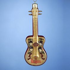 Kurt Adler Glass Beatles Guitar Ornament 5Inch * Check this awesome product by going to the link at the image.