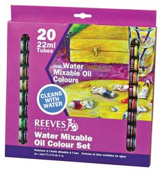 Water Soluble Oil Color Paint