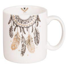 Mug attrape-rêves en porcelaine blanche, Click web site other content Cute Coffee Mugs, Cool Mugs, Coffee Gifts, Coffee Art, Coffee Type, Sharpie Paint, Mug Art, Diy Mugs, Cute Cups
