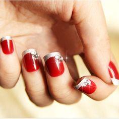 Christmas nails - #nailart #nails ==