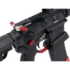 Rainier Arms Avalanche Knurled Handles-Red, Avalanche KNURL Handle-Red, by Rainier Arms, LLC, color Red.