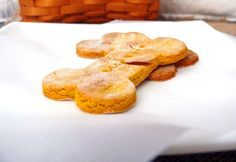 Apple, Pumpkin and Peanutbutter Dog Biscuits