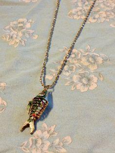 Colorful Cloisonne Fish Pendant with 28 Goldtone Vintage Necklaces, Vintage Jewelry, Vibrant Colors, Colorful, Etsy Vintage, Etsy Store, Brooch, Fish, Pendant Necklace