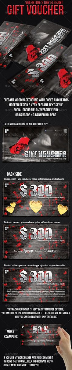 Gift Voucher Gift vouchers and Print templates - create a voucher