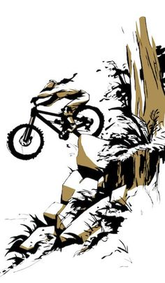 New Bike Tattoo Cycling Girls Ideas Downhill Bike, Mtb Bike, Cycling Girls, Cycling Art, Mountain Biking Quotes, Bike Drawing, Bike Logo, Bike Tattoos, Bicycle Art