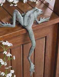 Mr Froggy Long Leg Frog Whimsical Shelf Sitter Garden Decor ...
