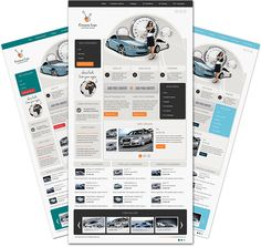 DJ Car Company Joomla Template