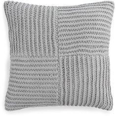 """Hotel Collection Linen Turquoise 20"""" Square Decorative Pillow,"""