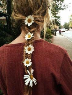 #flowerhairstyle