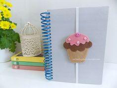 Marcador de páginas Cupcake