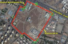 Details of alleged secret Iran nuclear site leaked by opposition group known as National Council of Resistance of Iran (NCRI)