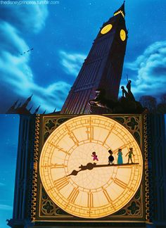 This movie will always be in my top five Disney films and it's probably-no, definitely-the reason I love stories about traveling to a different world. I love Alice in Wonderland and the Wizard of Oz but If I had to choose, I'd definitely pick Peter Pan over a white rabbit and a pair of ruby slippers anyday. :)