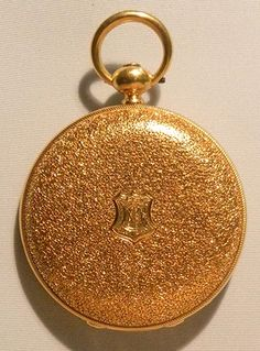I love the all-over foliage engraving of this Waltham 18K gold midsize antique pocket watch circa 1871. Bogoff Antique Pocket Watches Waltham 18K Midsize - Bogoff Antique Pocket Watch # 6767