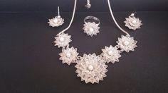 Artistic Wire, Wire Work, Crochet Stitches, Macrame, Crochet Necklace, Jewellery, Wire, Cornrows, Jewels