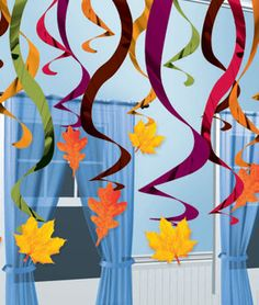 Decoratie: Fall Hanging Swirl Decorations