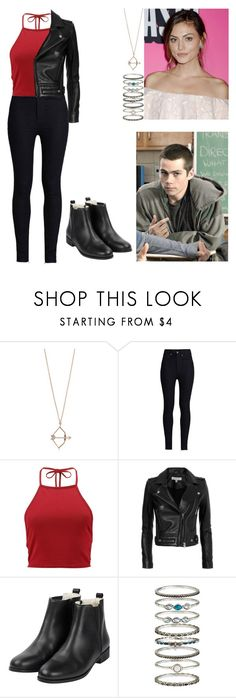 """""""The Hunted"""" by ariacarrow ❤ liked on Polyvore featuring Aamaya by Priyanka, Rodarte, Boohoo, IRO and Accessorize"""