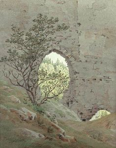 Caspar David Friedrich, Window View, Landscape Art, Archaeology, Graphic Art, Medieval, Vintage World Maps, Scenery, Around The Worlds