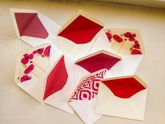 Sobres rojos de artepapel