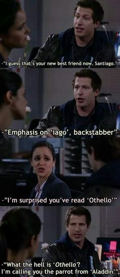 Funny pictures about One Of Brooklyn Nine-Nine's Best Scenes. Oh, and cool pics about One Of Brooklyn Nine-Nine's Best Scenes. Also, One Of Brooklyn Nine-Nine's Best Scenes photos. Tv Quotes, Movie Quotes, Beer Quotes, Movie Memes, Funny Movies, Funny Images, Funny Photos, Images Photos, Brooklyn 9 9