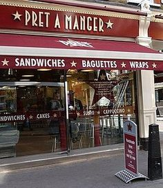 I discovered this sandwich chain when I visited London, but they are in the US as well!  A little expensive, but their food makes for a nice lunch.
