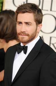 Jake Gyllenhaal, with a beard