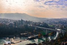 South view of Bern Switzerland by mbell1975, via Flickr
