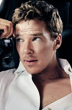 New York Magazine, Benedict Cumberbatch close-up