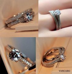 Wedding and engagement set