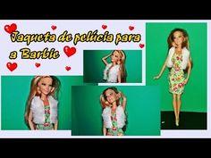 #COSTURANDO Jaqueta ou Colete de pelúcia para a Barbie  - YouTube