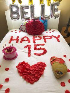 Happy 15th Birthday, Cake, Desserts, Food, Pie Cake, Meal, Cakes, Deserts, Essen